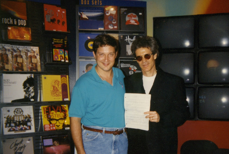 Wayne with David Sanborn